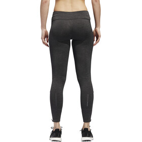 adidas Response Heather Running Tights Women Black/Carbon